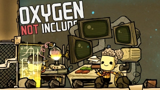 Oxygen Not Included!  Ep. 2 - Super Computer Research Station! - Oxygen Not Included Gameplay