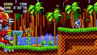 6 Minutes of Sonic Mania Gameplay on Nintendo Switch - E3 2017