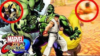 RYU HAS REPLACED WOLVERINE!!!!   Marvel vs Capcom Infinite Story Mode Playthrough Part 2