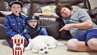 Who Took My Popcorn? Fluffy the Dog gets into hilarious mischief!