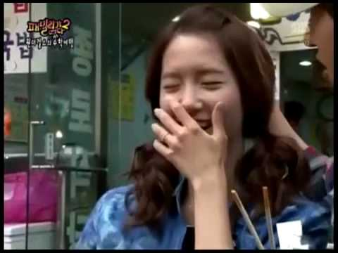 YoonafiedSubs YoonA Eating Chicken Feet