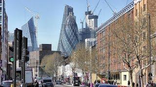 Walk Across East London from Whitechapel to Canary Wharf