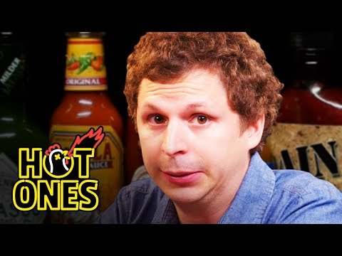 Xxx Mp4 Michael Cera Experiences Mouth Pains While Eating Spicy Wings Hot Ones 3gp Sex