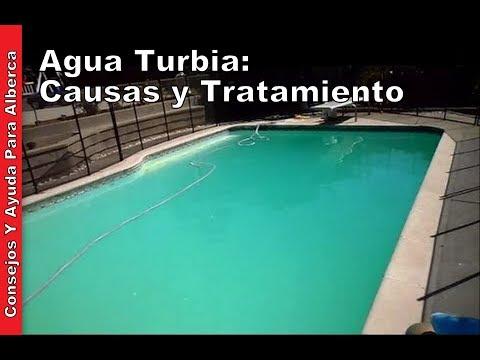 Agua Turbia Causas y tratamiento