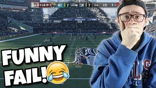 4th Down And 39 | THE DUMBEST FAIL THAT IV'E EVER MADE?? Madden 18 Packed Out!