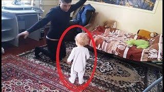 هذا الاب لم يكن يعلم ان هناك كاميرات في المكان.. انظروا ماذا فعل