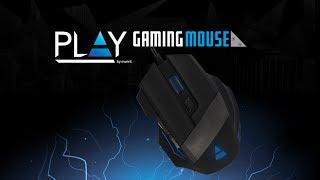PL3300 Illuminated Gaming Mouse 3200 DPI (English)