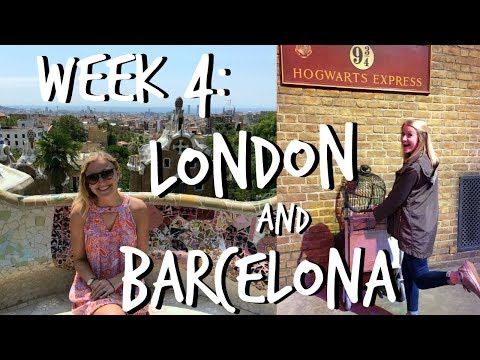 LONDON & BARCELONA    Study Abroad Week #4 Vlog