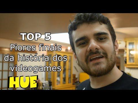 TOP 5 PIORES FINAIS DOS VIDEOGAMES HUEstation