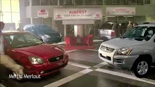 Musicless Kia car commercial