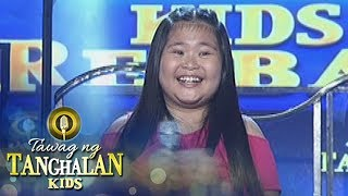 Tawag ng Tanghalan Kids: Trixie San Roque is back in the game!