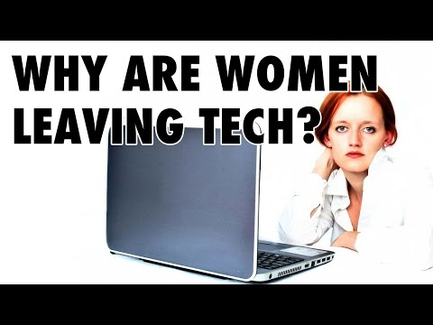 Why are women leaving tech in droves