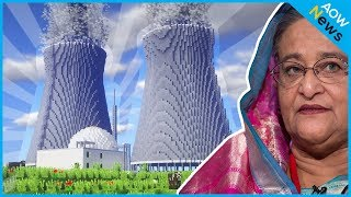 সাব্বাস হাসিনা !! পারমাণবিক প্ল্যান্টে ইতিহাসের দৌড়-গোড়ায় বাংলাদেশ !! Ruppur Nuclear Power Plant