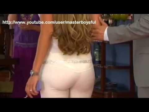 betty monroe culazo en pantalon blanco ajustado