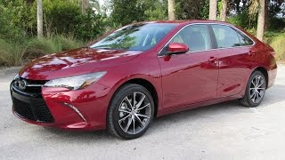 2015 Toyota Camry XSE V6 Start Up, Test Drive, and In Depth Review