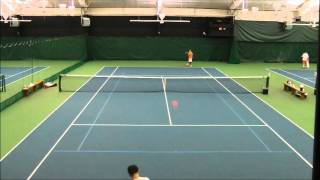 Mens USTA League 4.5 Singles Match Part 1