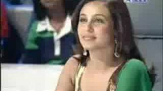Rani sings in Star Voice Of India