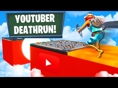 Which YouTuber has the easiest Deathrun level 🤔 Fortnite Creative Mode