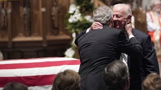 James Baker Gives Poignant Eulogy to George H.W. Bush