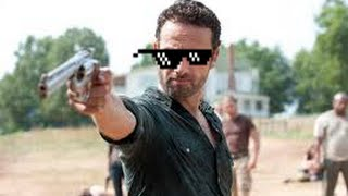 THE WALKING DEAD TURN DOWN FOR WHAT RICK