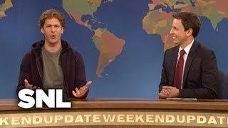 Weekend Update: Mark Zuckerberg - Saturday Night Live