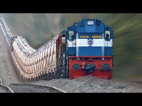 The Raising Trains ! Incredible GRADIENTS