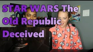 STAR WARS The Old Republic - 'Deceived' Cinematic Trailer (Reaction 🔥)