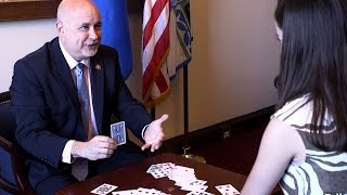 This Wisconsin Democrat Uses Magic to Decry Beltway's 'Rigged System'