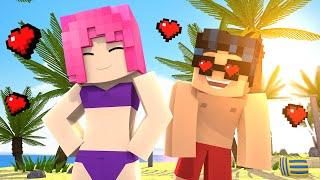 Minecraft Daycare - ROBIN & STARFIRE LOVE AT THE BEACH? (Minecraft Superhero Roleplay)