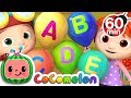 Download Video Download ABC Song with Balloons | +More Nursery Rhymes & Kids Songs - CoCoMelon 3GP MP4 FLV