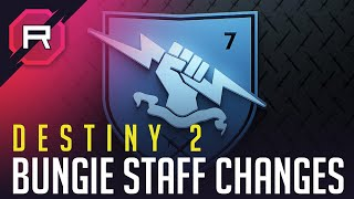 Destiny 2 Bungie Staff Changes