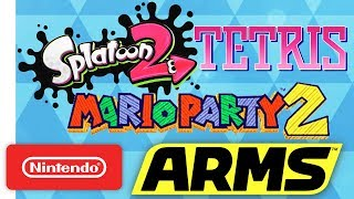 Tetris, Splatoon 2, ARMS, Mario Party 2 | NWC 2017 (Pt. 3) Highlights