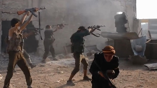 Battle For Aleppo - FSA/Rebels in Heavy Clashes Fighting - Syria War 2016