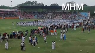 Binapani Govt. Girl's School: Display Event at Sheikh Kamal International Stadium, Gopalganj