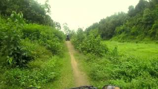 Thailand 2014 GoPro Hero 3 - Amazing Chiang Mai Quad Driving!