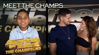 Tyler Butler-Figueroa and Duo Destiny Are Ready To ENTERTAIN! - America's Got Talent: The Champions