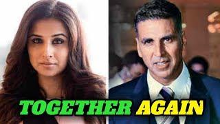 Bollywood News l Akshay kumar doing next film with Vidya Balan