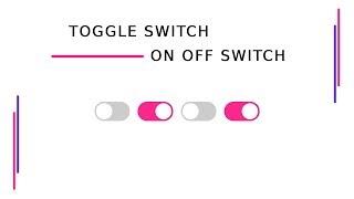 CSS Toggle Switch | On Off Button Design Using HTML And CSS | 4 Minutes Tutorial