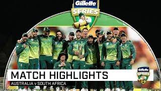 Australia v South Africa, third ODI