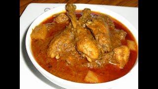 ট্রাডিশনালভাবে আলু মুরগির ঝোল রান্না/Alu Murgir Jhol Recipe/Bangladeshi Chicken Recipes