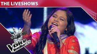 Sneha Shankar Performs On Teri Umeed Tera Intezar | The Voice India Kids | Episode 29