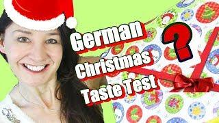 GERMAN CHRISTMAS Taste Test Surprise Unboxing
