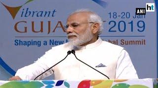 PM Modi addresses delegates at Vibrant Gujarat Summit