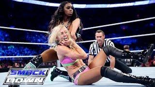 Charlotte vs. Naomi: SmackDown, Aug. 13, 2015