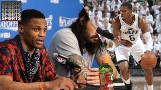 Westbrook Goes Off On Reporter | Iso Joe the Clippers Killer! [NBA West Playoffs Recap]