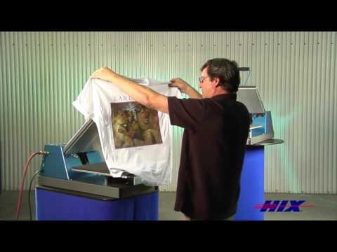 HIX Air Operated Auto Open Heat Press