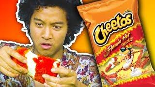 Trying Hot Cheeto Diys!!!