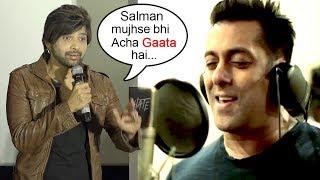 Himesh Reshammiya PRAISES Salman Khan's Singing At Aashiq Banya Aapne Remix Song Launch-Hate Story 4
