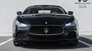 Overview: 2017 Maserati Ghibli - NEW features & changes