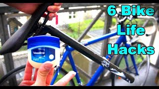 6 Bike Life Hacks  🚲  Every Cyclist Should Know